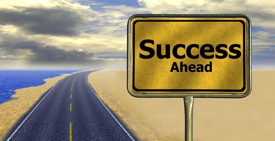 set your slights: success ahead