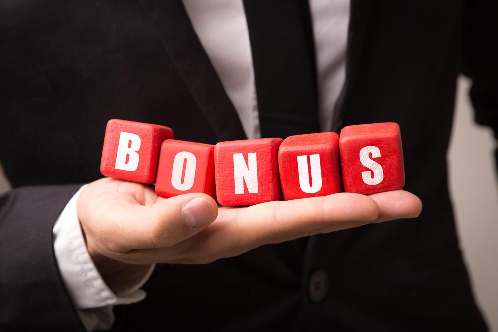 receive bonuses from employer