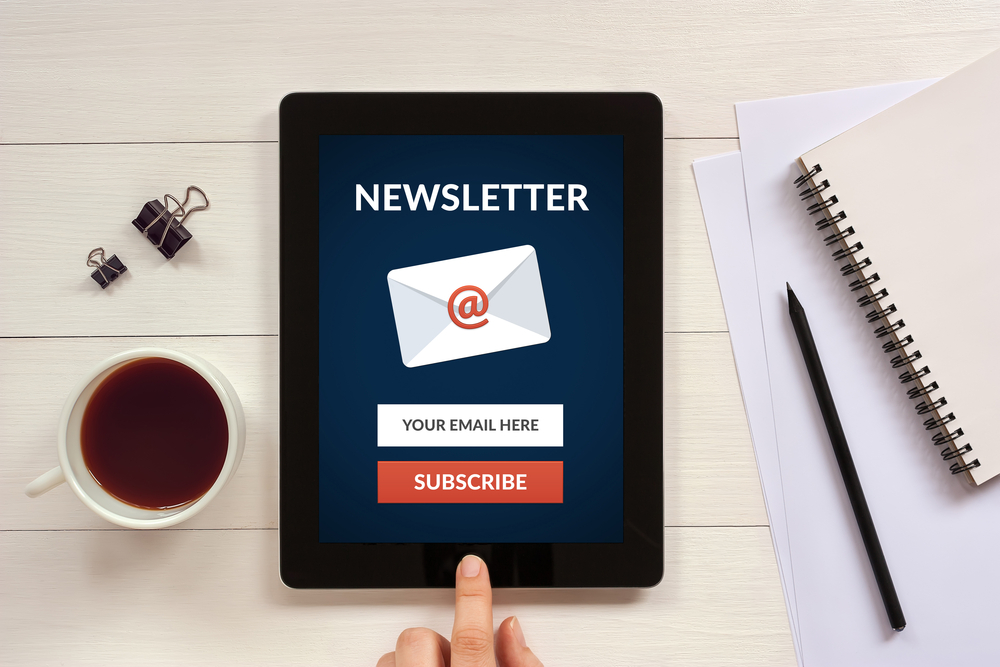 subscriptions and newsletters