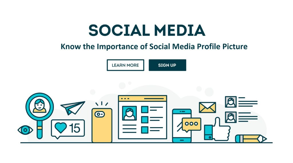 make a great social media profile