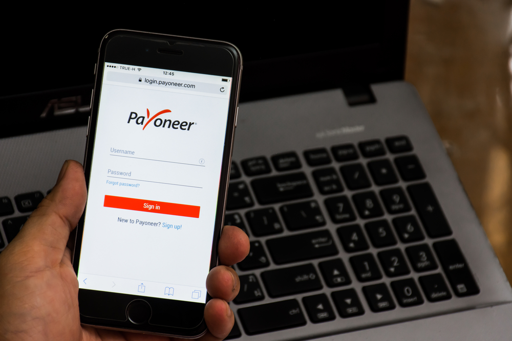 payoneer as payment method