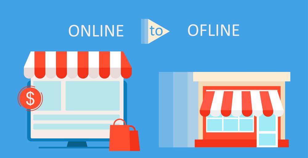 offline store to online