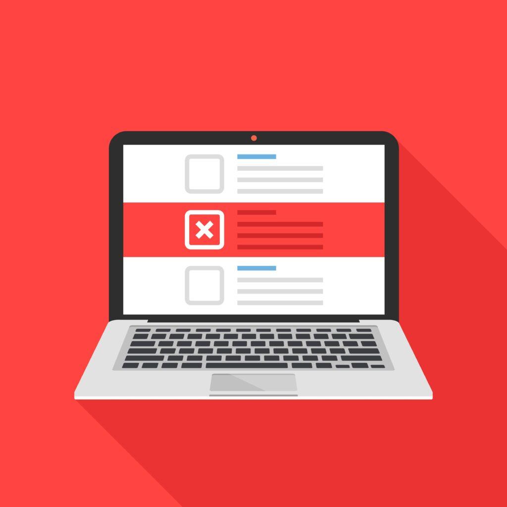 web design mistakes businesses do