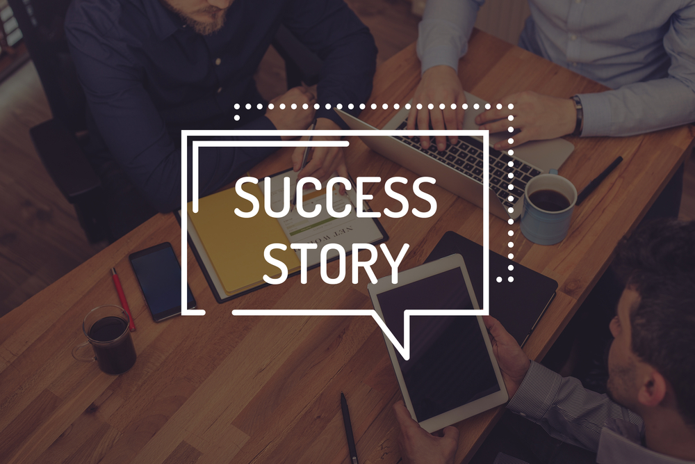 write Instagram success story