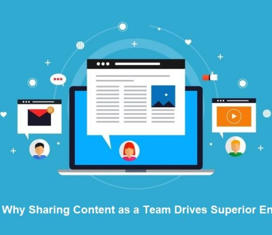 sharing content drives engaging users