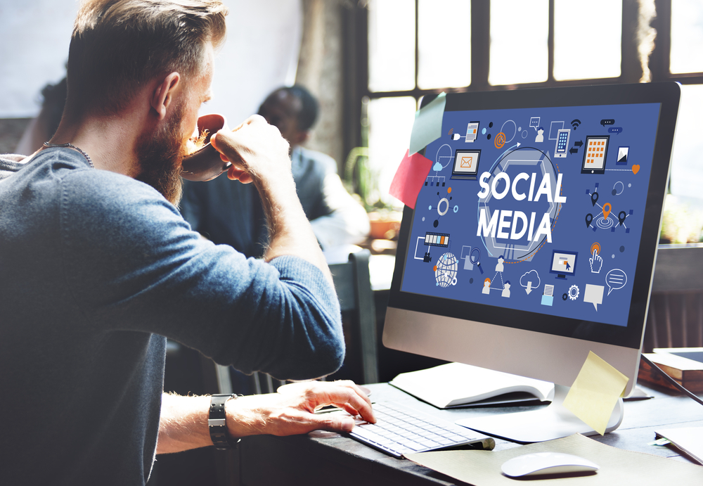 social media use for business