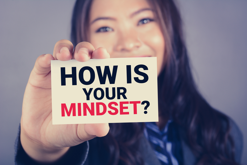 positive mindset to succeed in business