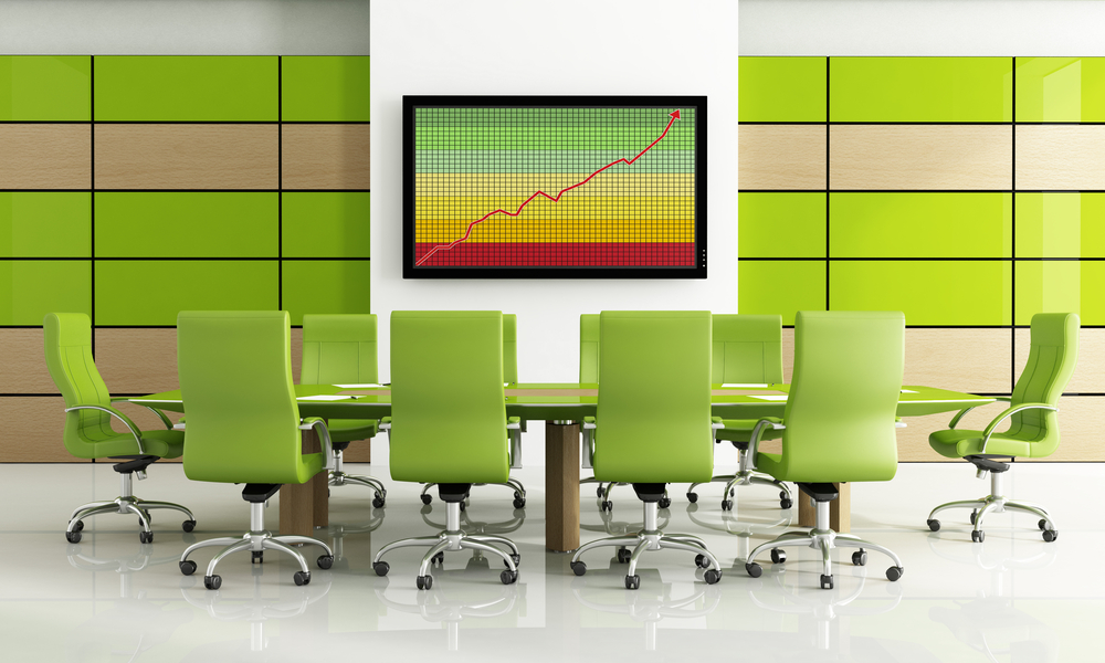 green workspace to boost your business