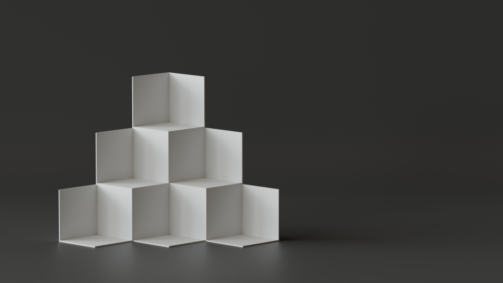 display cubes for office