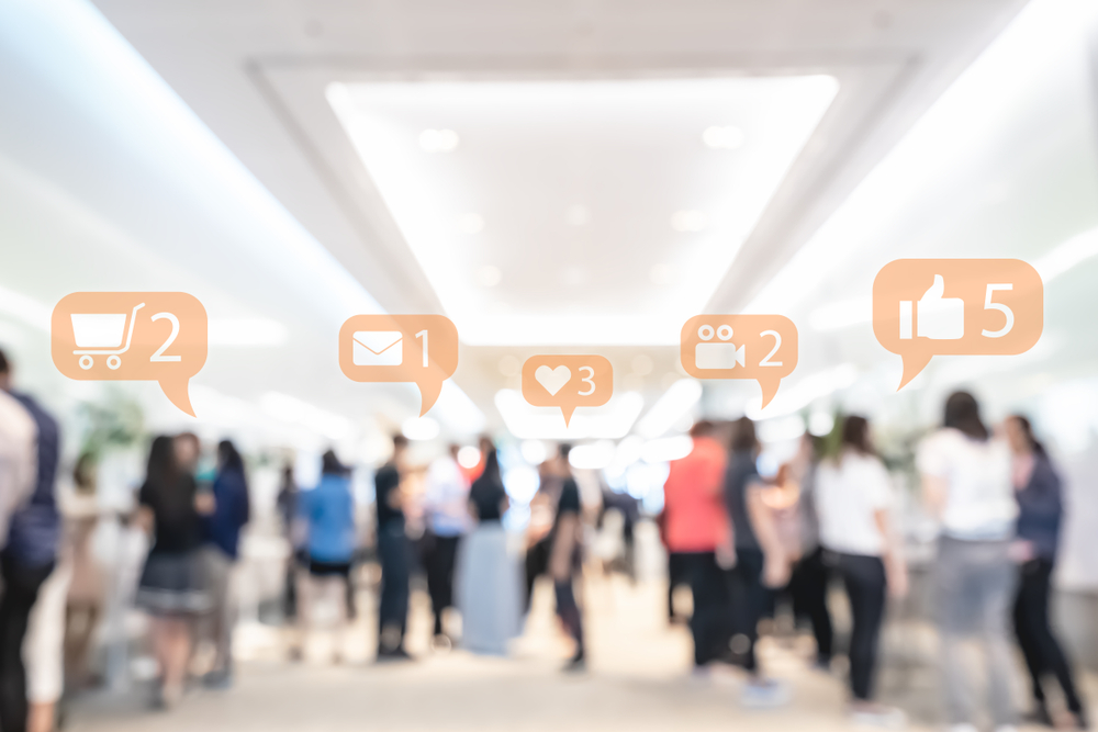 trade show marketing on socialmedia