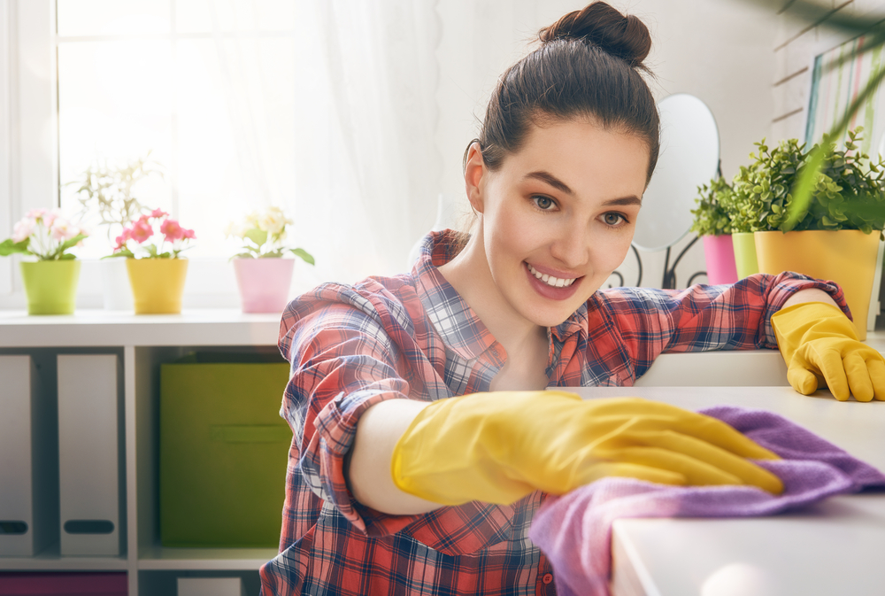 home cleaning benefits