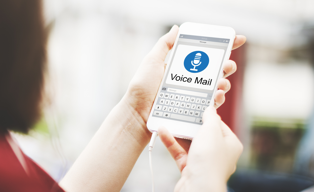 customized voice mail