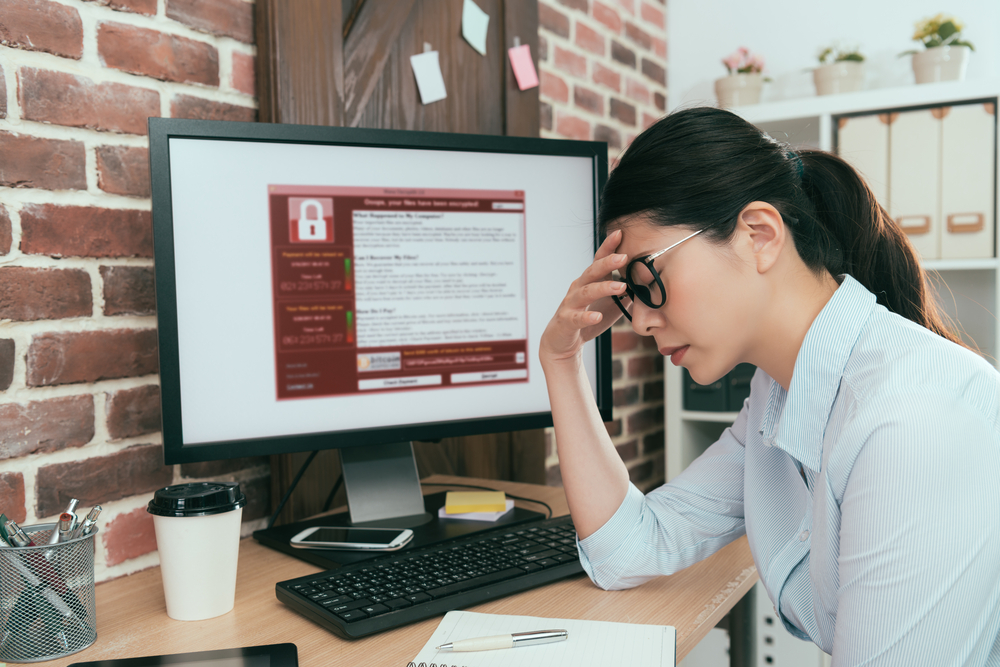 Ransomware harming businesses